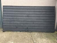 Double Garage Door Made From Steel **FREE**