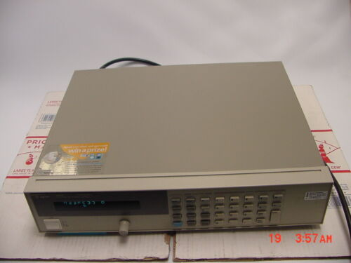 HP/Agilent 6631B System DC Power Supply 8V, 10A  ,80 Watt