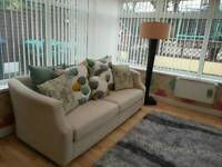 Stunning dfs sofa and swivel chair immaculate condition can deliver