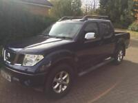 Nissan navara outlaw 2.5dci 6 speed double cab pick up truck 58reg fsh