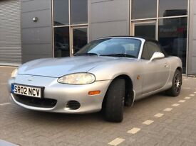 Mazda MX-5 1.8i 6 Speed Silver/Black Leather