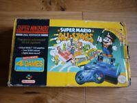 Super Nintendo Entertainment System (SNES) Super Mario All Stars Boxed Console
