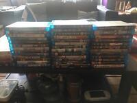50 blu rays 11 dvds job lot