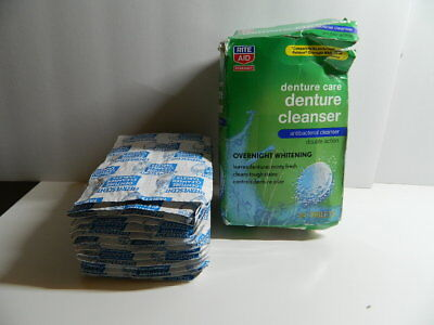 Rite Aid Denture Care Cleanser Tablets  84 Tablets  Free Shipping