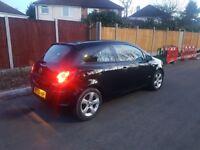 Black Vauxhall Corsa 2008, 998cc (1 litre)