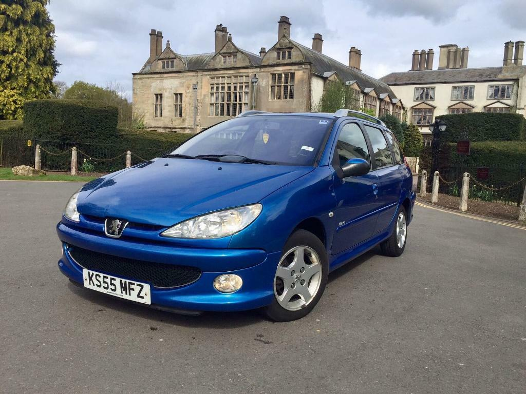 Peugeot 206 Sw Estate 1 4 Diesel 2006  U00a330 Road Tax Per Year