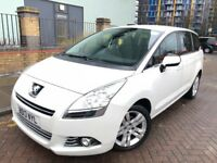 Peugeot 5008 (2013 13reg) Diesel 1.6, Automatic, 7 Seats MPV, UBer XL, PCO, VW Sharan, Ford Galaxy