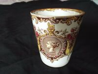 VICTORIAN DIAMOND JUBILEE CERAMIC CUP