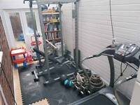 Bodymax 475 power rack +stack & extras
