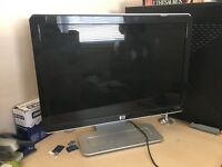 "HP w1907v 19"" computer flat screen monitor excellent condition"