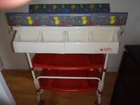 Baby weavers Bath, Changing & Storage Unit