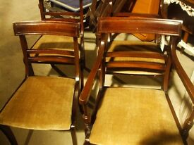 four chairs regency style