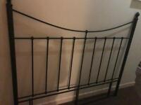 Wrought Iron King Size Bed Head