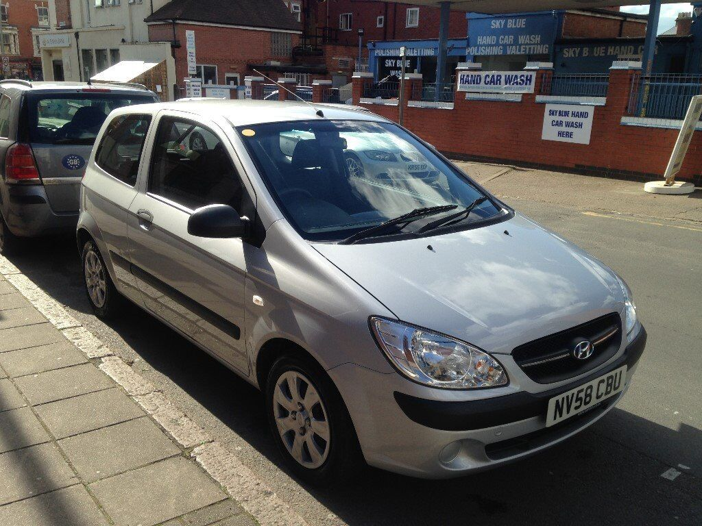HUNDAI GETZ 2009, 1.2 PETROL WITH FULL SERVICE HISTORY AND ONE YEAR MOT