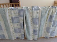 Pair of Pinch Pleat Lined Mostyns Made to Measure curtains
