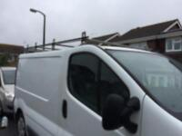 Roof rack for Renault trafic, Nissan primastar or Vauxhall vivaro