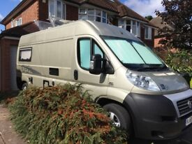 High spec Fiat Ducato ih conversion motorhome; 56k miles onlySOLD