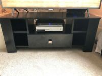 Tv cabinet in black