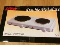 Prima Double Hotplate 2500w