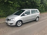 Vauxhall zafira 1.6 petrol with pco licenses