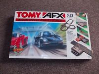 TOMY AFX Computer Challenge Race Car Set