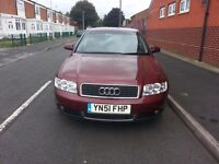 AUDI A4 1.8T TURBO SPORT FULL SERVICE HISTORY CAM BELT CHANGED VERY GOOD CONDITION LOW MILES