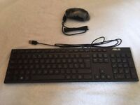 ASUS Brand new matching wired ASUS keyboard & mouse.AS PIX