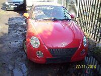 Daihatsu Copen breaking for spares 2004 model