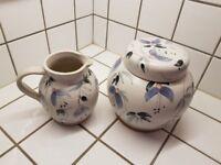 Ringrose Pottery Jug and Ginger Jar
