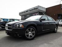 2014 Dodge Charger SXT,Sunroof,8.4 ich Touch Screen, Rear Spoile