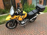 Bmw gs1150 yellow