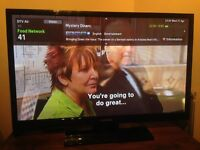 """SAMSUNG PS43E450 43"""" Series 4 HD Ready Plasma TV with Freeview - RRP £329"""