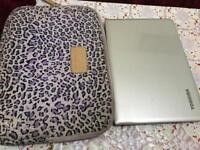 """Toshiba Satellite CL10 11.6"""" silver ultra portable HDMI excel cond long battery NO OFFERS"""