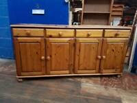 Large 4 Door Ducal Pine Sideboard