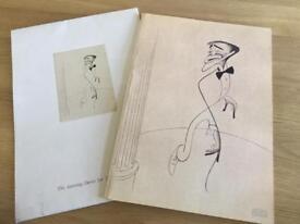 Souvenir Programme from theSammy Davis jnrtribute Albert Hall