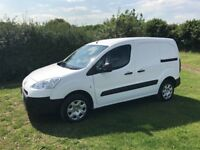 PEUGEOT PARTNER 1.6 HDI DIESEL 2014 14-REG FULL SERVICE HISTORY *1 OWNER FROM NEW* DRIVES EXCELLENT