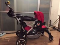 Joovy Caboose Double Stand on Stroller