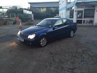 FOR SALE MERCEDES BENZ C-CLASS AUTOMATIC ONLY £899