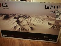 """*BNIB Unwanted Gift* LG 43"""" 4K HDR Smart TV *Great Christmas Addition*"""