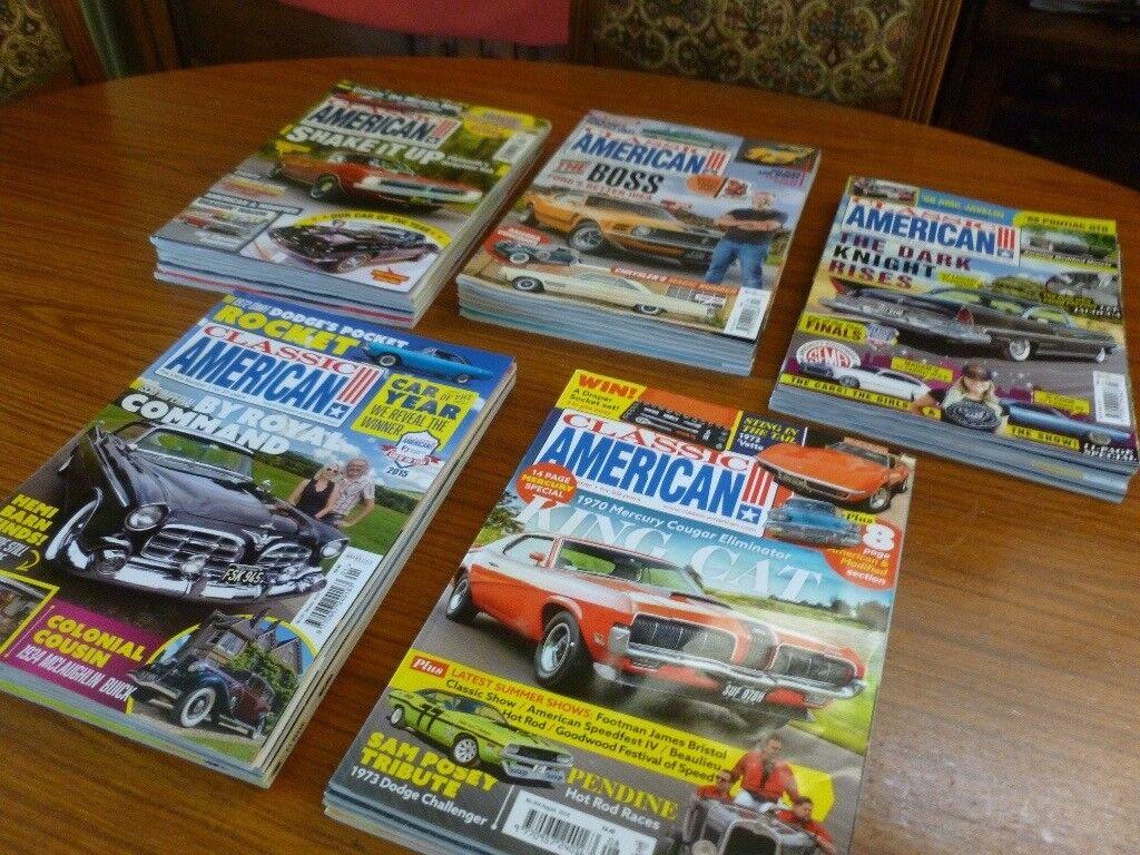 Free Classic Car Magazines In Norwich Norfolk Gumtree