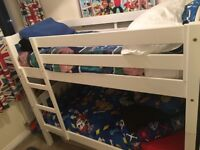 Children's small size bunk beds