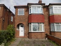 Newly Refurbished 3 Bedroom - 2 Receptions - Large rear Garden - Available Now!
