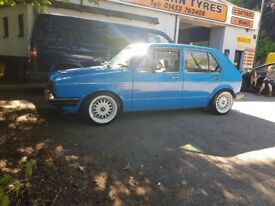 Mk1 golf new mot good millage