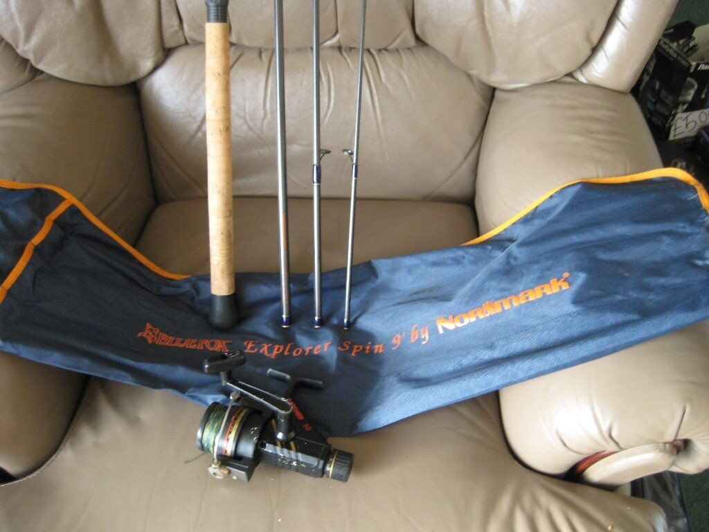 For Sale Normark Explorer Spin rod and free reel