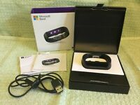 MICROSOFT FITNESS & ACTIVITY TRACKER WRIST BAND - SIZE SMALL