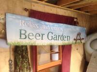 Pub banners indoor outdoor garden etc large £10