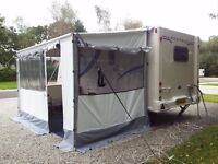 Fiamma Zip Up Caravan Full Awning (Canopy and Panels) 3.6m long