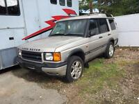 Land Rover discovery td5 breaking