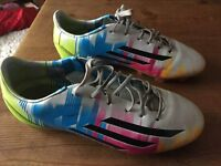 Used Messi adidas football boots size 4 1/2 good condition bought £120 sell £15.00 as now too small