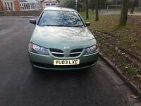 low milage new mot nissan almera